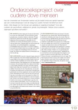 Artikel Woord en Gebaar 2015
